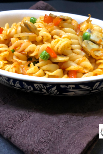 Pasta Recipes - Indian style